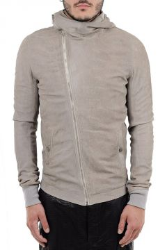 BULLET JKT Leather Hooded Jacket
