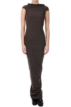 Stretch MARELLA GOWN Dress DARKDUST