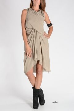 Silk TORNADO TUNIC Dress PEARL