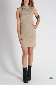 Silk BONNIE TUNIC Dress PEARL