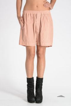 DRKSHDW Cotton Blend Shorts Rose