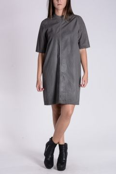 DRKSHDW Tunic Top With Short Sleeves Dark dust