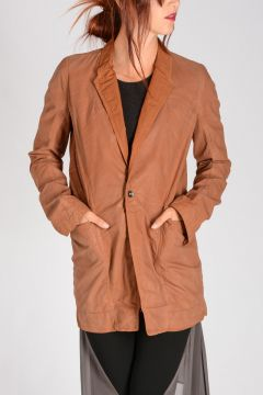DRKSHDW Giacca FAUN BLAZER in Cotone Stretch ORANGE