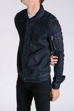 DRKSHDW Denim COLD WORKER COMBO POCKET Jaket