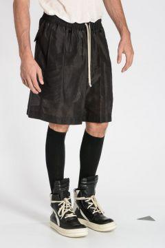 Pantaloni FAUN SHORTS in Cotone e Seta