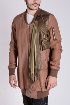 Cotton CONTAINED FLIGHT Long Jacket Mustard