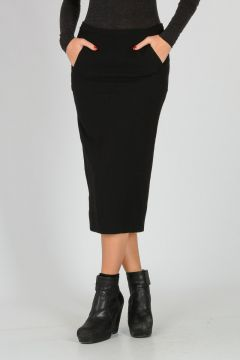 Wool Blend PILLAR SHORT Skirt