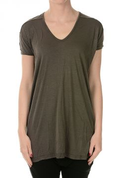 V Neck T-shirt darkdust