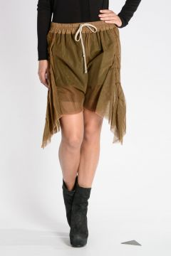 Bermuda FRILLED SHORTS Stretch