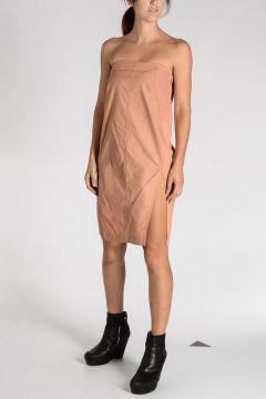 CHALICE STRAPLESS Silk Blend Dress
