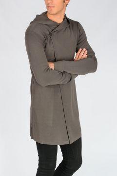 Hooded Cardigan DARKDUST