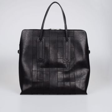 Leather JUMBO SQUARE Bag