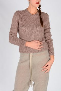 Silk BIKER LUPETTO Sweater