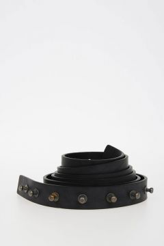 25 mm Leather LONG BELT
