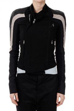 Silk Leather Jacket COMBO ELIEL BIKER