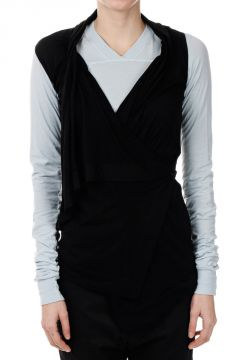 Giacca SLEEVELESS WRAP