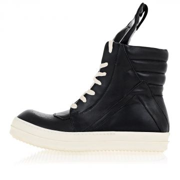 GEOBASKET Leather High Top Sneakers