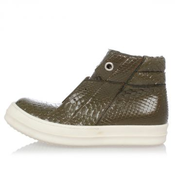 Python Skin ISLAND DUNK Sneakers