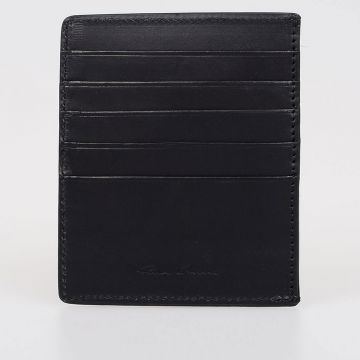 Leather Pony Skin Business Credit Card Holder