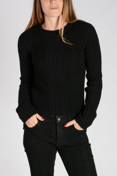 Virgin Wool LUPETTO BIKER Sweater