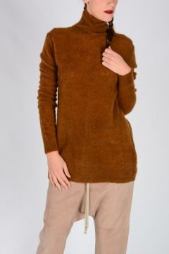 Wool Mohair Blend OVERSIZED TURTLE Sweater