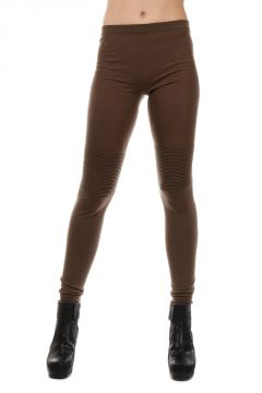 INTARSIA Leggings in Lana Faun