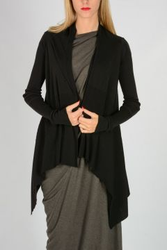 Virgin Wool MEDIUM WRAP Cardigan