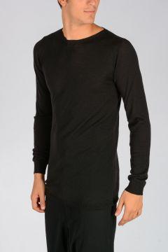 Virgin Wool BIKER LEVEL ROUND Sweater
