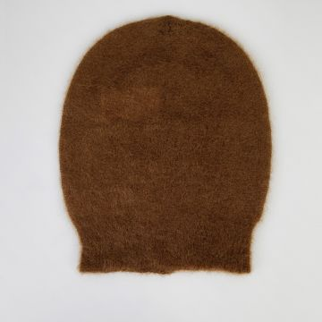 Cappello BIG in Misto Mohair MUSTARD