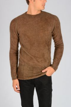 Mohair Blend LEVEL ROUND NECK Sweater FAUN