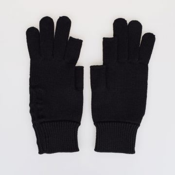 Virgin Wool ALA knitted gloves