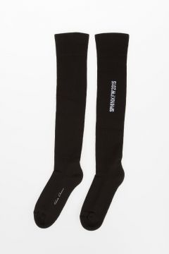 Cotton Blend UPKNEE Socks DARKDUST