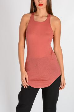 BASIC RIB TANK Top CYCLAMEN