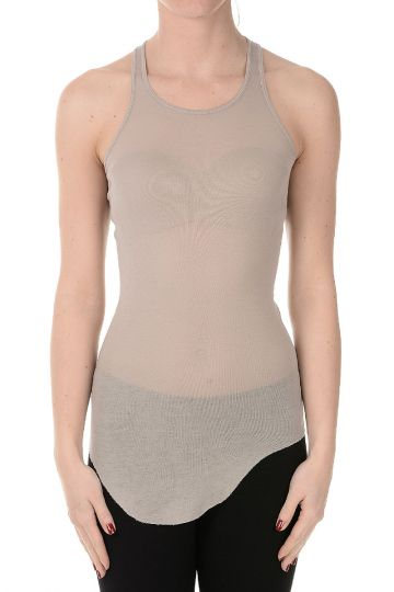 LILIES Top BASIC RIB TANK in cotone
