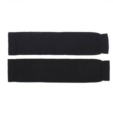 Wool Knit Leg Warmer Black
