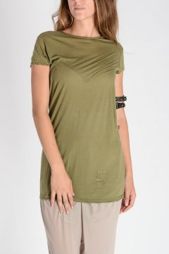 DRKSHDW Cotton LEVEN TEE T-Shirt LimoGreen
