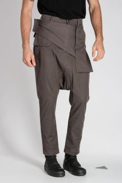 Stretch Cotton SWINGER MEMPHIS Pants DARK DUST