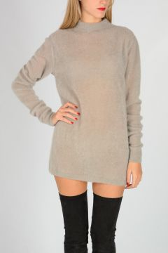 Mohair Wool Blend Sweater