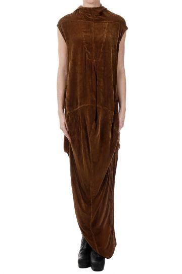 SEAHORSE TUNIC Mixed Silk Dress