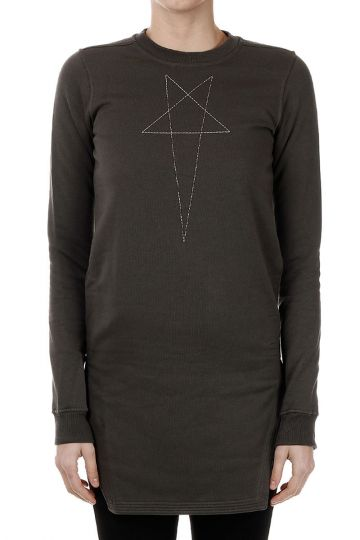 DRKSHDW CREWNECK FAUN Dark Dust/Ricamon Sweatshirt