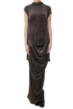 SEAHORSE Mixed Silk Dress