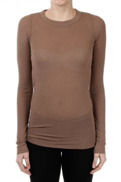 T-shirt LONG SLEEVES RIBBED Faun