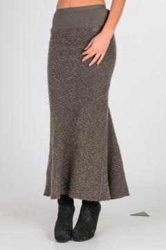 Mohair Wool Blend Skirt