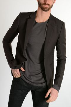 Virgin Wool SOFT Blazer DARK DUST