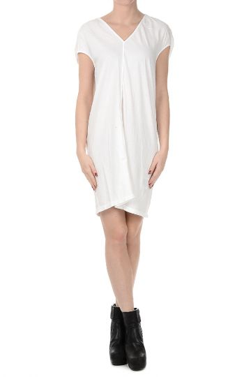 DRKSHDW Cotton FLOATING TUNIC dress