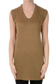 Cashmere and Silk V neck Top