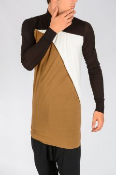 T-shirt LONG SLEEVES COMBO T Misto Seta