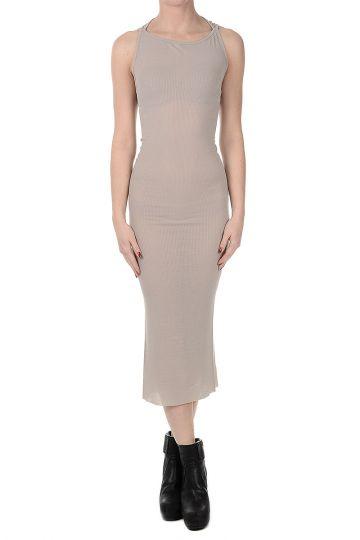 TANK SLIP Cotton and Silk Dress