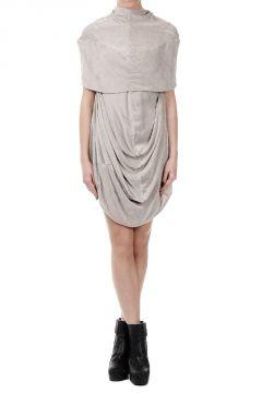 PELICAN TUNIC Mixed Silk Dress