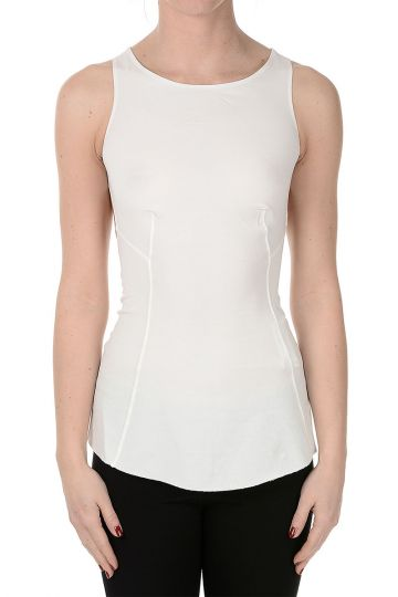 LILIES stretch Fabric Sleeveless Top